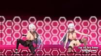 Hot 3D Big Tits Dance Team