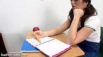 Schoolgirl Gets Thumb Up Her Tight Butt! pornhub video
