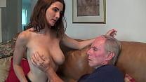 My boyfriend dad stare at my Tits Thumbnail