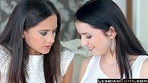 My First Lesbian Experience Kittina Cox & Shrima Malati - LesbianCums.com pornhub video