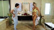 Busty Blonde MILF Oils Up pornhub video