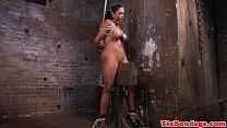 Ebony bdsm sub squirts while being toyed ‣ Decisiones extremas xxx thumbnail