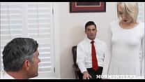 Mormon Teen Masturbates To President Jerking Off