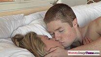 Mature Stepmom Darryl Hanah Gets Facialized