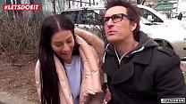 Stunning twins get wild fuck on the road in Berlin (Silvia Dellai, Eveline Dellai) Preview