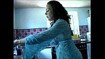 Kitchen pissing girl 2 thumbnail
