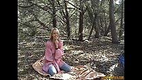 Blonde Outdoor Creampie