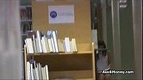 Смотреть порно в библиотеке