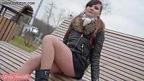 Jeny Smith seamless pantyhose public upskirt tumblr xxx video