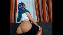 18500 Muslim Girl Very Sexy Very Horny Teasing Stripping Dancing Sex Hijab Arabian Jilbab preview