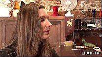Salope francaise se fait defoncer le cul sur le canap pornhub video