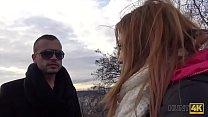 HUNT4K. Handsome guy with money makes winsome girl cheat on her man Vorschaubild