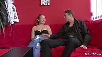 18 Jahre junge Studentin Nelly beim Porno Casting fuer Geld ohne Kondom Vorschaubild