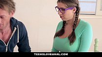 TeensLoveAnal - Step-Dad fucks daughter in the ass porn image