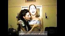 Homemade lesbian orgy