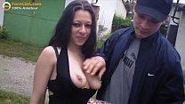 Real amateur gypsy threesome fucking