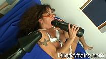 Dildoaffairs - Old Girl Pornstar Anastasia With Big Toy Dildo