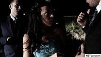 Nerdy schoolgirl Whitney Wright gangbanged at h...