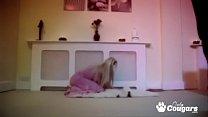 Horny Kitty Cindy Behr Drunks Down A Cum Milkshake