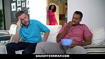 DaughterSwaps - Teen Fucks Older Daddy Thumbnail