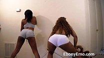 Ebony Booty Shaking