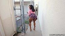 Black Girl Sucks on Chocolate Balls