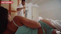 LETSDOEIT - Cheating Thot Gets Caught By Boyfriend Coming From Work (Amirah Adara) Vorschaubild
