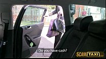 Blonde amateur Johana cant pay the taxi bill and gives head instead thumbnail
