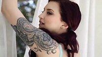 Beautiful tattoo girl sex play, Part 1, Watch P...