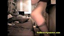 Estonian Babe Plugging Asshole - fatbootycams.com