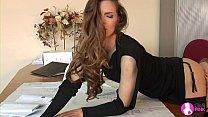 Lesbian Boss Seduces Beautiful Employee - Viv Thomas HD