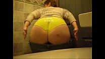 Irish Pawg M.J. Teasing In Yellow Panties
