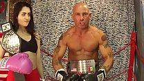 MMA Match Man vs Women UNDERGROUND INTERGENDER ...