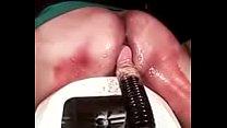 sufre con dildo grueso