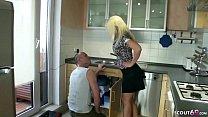 German Wife - Deutsche Ehefrau Laesst Sich Von Handwerker In Arsch Ficken