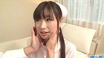 Shizuku Asian nurse receives a strong pounding