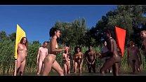 Nude Battle Between Friends - Non-Porn