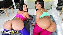 BANGBROS - Latin Babes Diamond Kitty and Rose Monroe Get Their Big Asses Banged