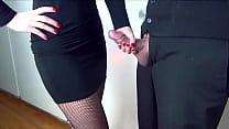 secratary handjob - daysi araujo xxx thumbnail