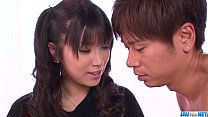 Hinata Tachibana Gets Jizz On Her Demolished Cunt