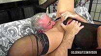 Slender Older Slut Keli Richards Enjoys Wild and Lusftul Mature Sex's Thumb
