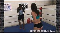 Boxing Sinn Sage Combat Fetish - Big Booty Whit...