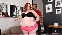 SSBBW Julie Ginger Gets Her First Taste Of Lati...