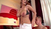 Big titty Sex Goddess Katerina Hartlova Rides a Hard Cock صورة