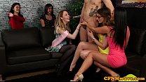 CFNM bachelorette wanking male strippers cock video
