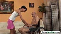 Zsofia Olah Blowjob Fucking Handicapped Riding-2