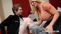 Cuckold threesome with big tit pornstar Alura Jenson Preview