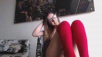sexy girl masturbates on webcam more videos on lewdwebcams.com Thumbnail