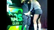 Chupeta durante Show