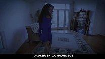 DadCrush - Hot Brunette Teen Victoria Voxxx Gets Filled By Cock Vorschaubild
